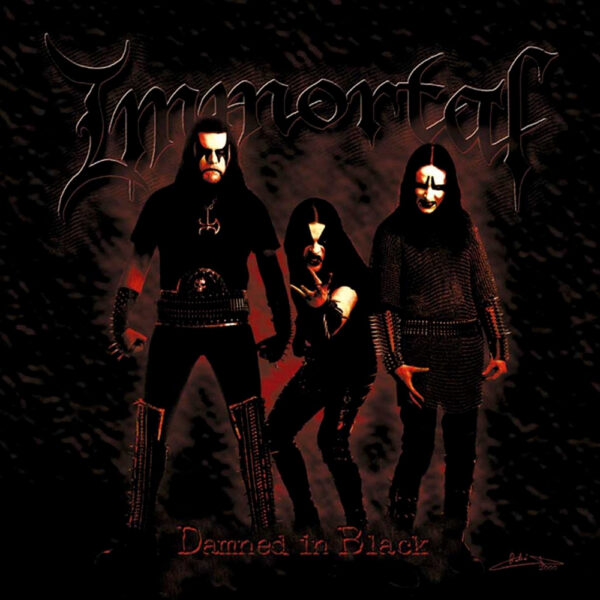 Immortal - Damned In Black, Gatefold, Limited Red/Gold Merge Vinyl, 500 Copies 1