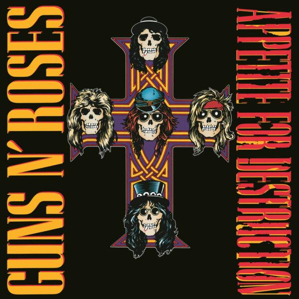 Guns N Roses - Appetite For Detruction, 2LP, Gatefold, Slipcase, 180gr, GnR Logo Hologram 1