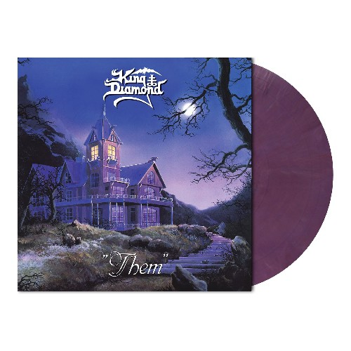 King Diamond - Them, Limited Pastel Violet Marbled Vinyl, 500 Copies 1