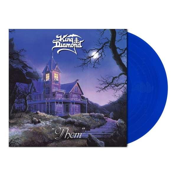 King Diamond - Them, Limited Clear Royal Blue Vinyl, 1000 Copies 1