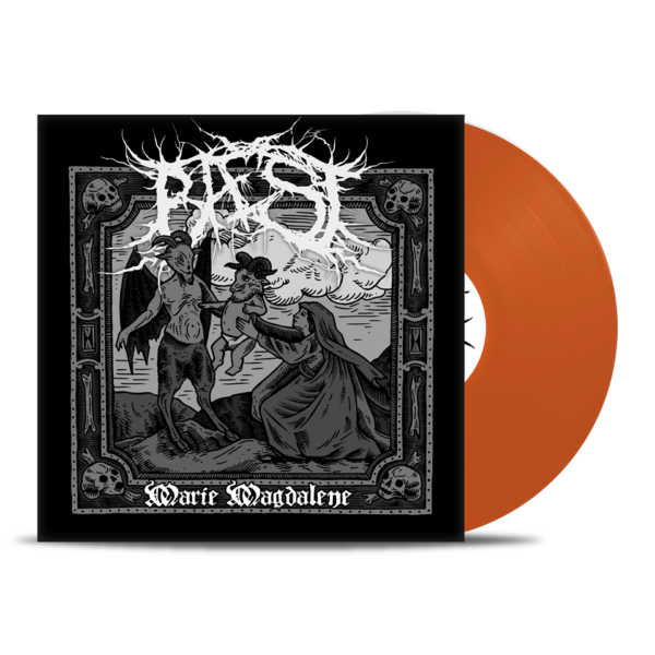 Baest - Marie Magdalene, Plague Edition, Orange Vinyl, 250 Copies, Numbered 1