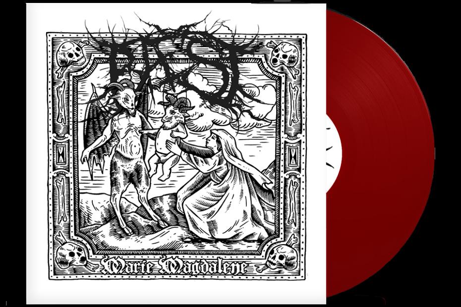 Baest - Marie Magdalene, Virus Edition, Red Vinyl, 250 Copies, Numbered 15