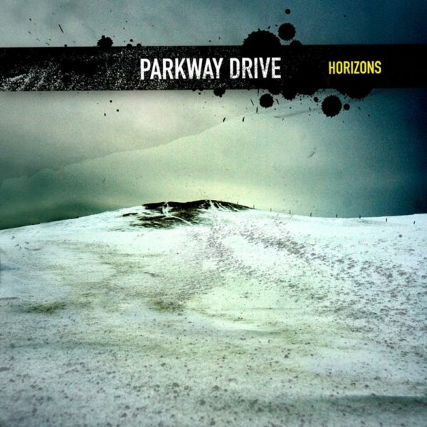 Parkway Drive - Horizons, Limited Milky Clear With Blue And Yellow Splatter, 1000 Copies, Numbered, LP 1