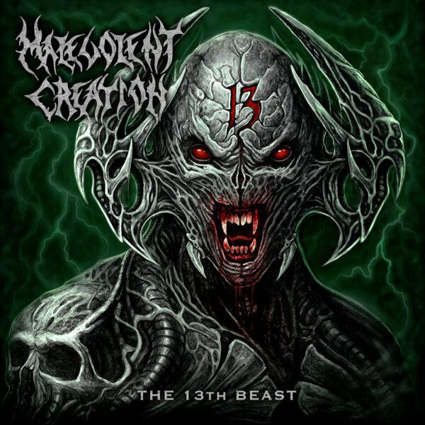 Malevolent Creation - The 13th Beast, 180gr, LP 1