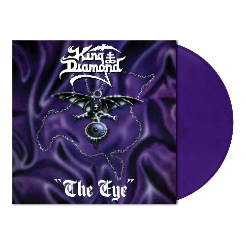 King Diamond - The Eye, Limited Purple/Black Marbled Vinyl, 500 Copies 1