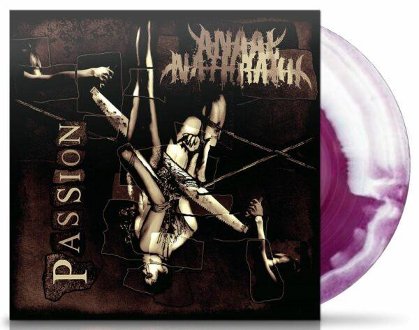 Anaal Nathrakh - Passion, Gatefold, Limited Red/White Swirl vinyl 1
