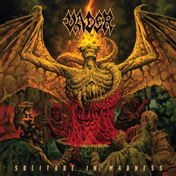 Vader - Solitude In Madness, Gatefold, Limited Red Vinyl, 300 Copies 2