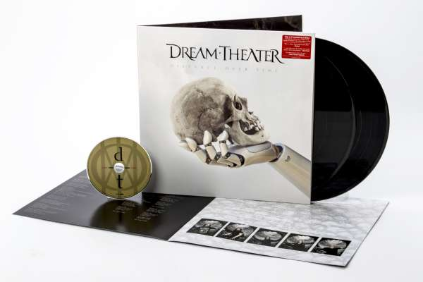 Dream Theater - Distance Over Time, 2LP, Gatefold, 180gr, 8p Booklet, Incl CD 1