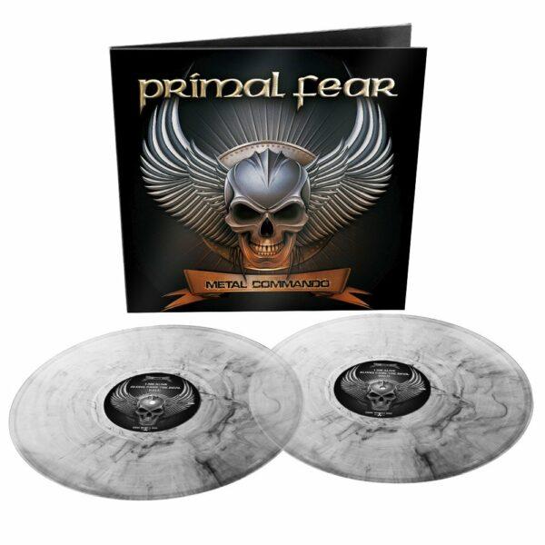 Primal Fear - Metal Commando, 2LP, Gatefold, Limited Clear & Black Marbled Vinyl, 500 Copies 1