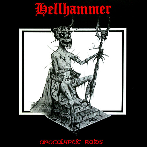 Hellhammer - Apocalyptic Raids, Gatefold, Remastered, 180gr, 24p Booklet 1