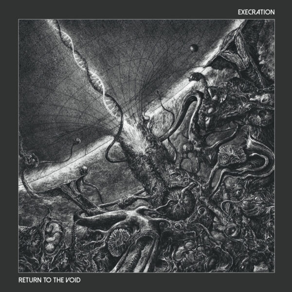 Execration - Return to the void, Gatefold, Limited Red Vinyl, 100 Copies 1