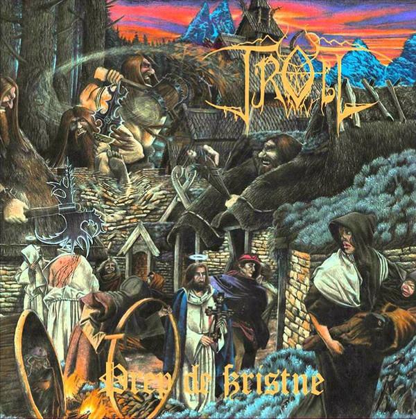 Troll - Drep De Kristne, 180gr, Amber Vinyl 1
