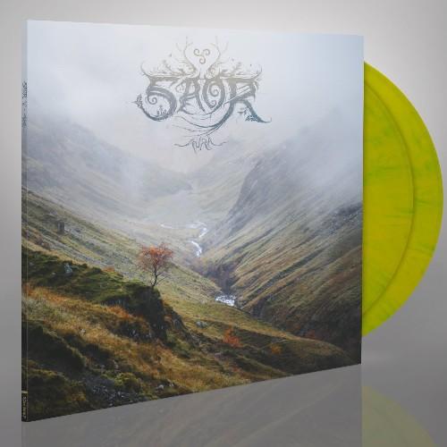 Saor - Aura, 2LP, Gatefold, Limited Yellow & Green Mixed Vinyl, 350 Copies 1