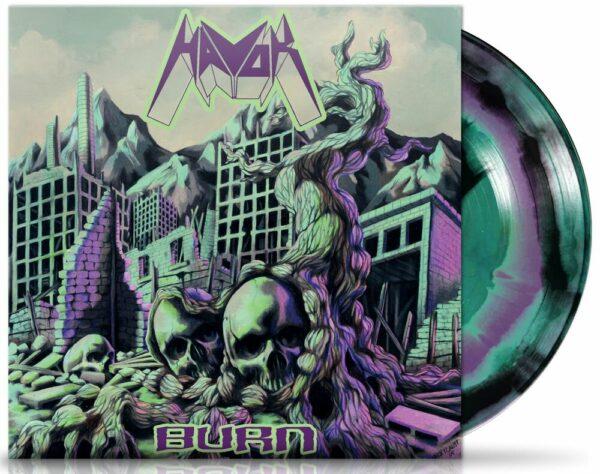 Havok - Burn, Gatefold, Limited Merged Coloured, LP 1