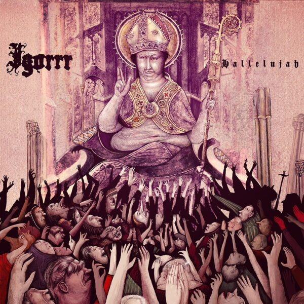 Igorrr - Hallelujah, 2LP, Gatefold, Limited Pink/White Splatter, 300 Copies, Church Perfumed Leaflet 1