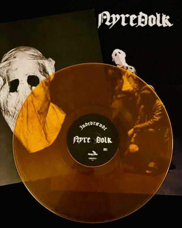 Nyredolk - Indebrændt, Limited Transluctent Flame Coloured Vinyl, 200 Copies 1