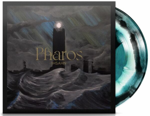 Ihsahn - Pharos, Gatefold, Limited Turquiose, White And Black Swirl Vinyl 1