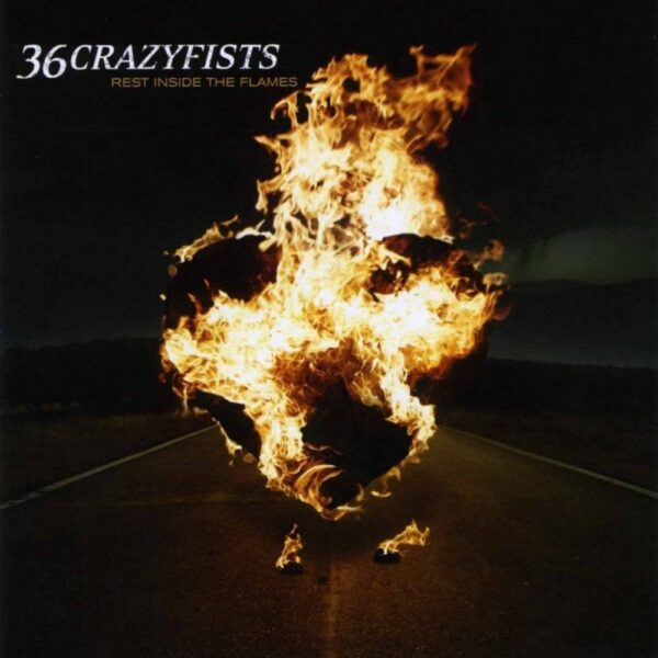 36 Crazyfists - Rest Inside The Flames, 180gr, Limited Coloured Vinyl, 750 Copies, First time on vinyl 1