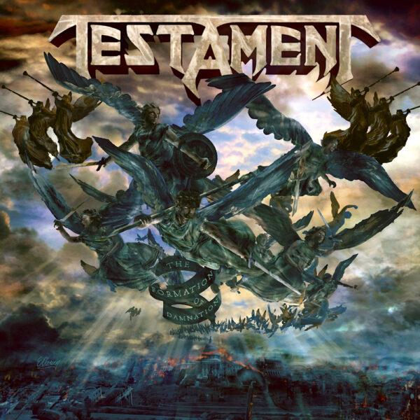 Testament - The Formation of Damnation, Gatefold, LP 1