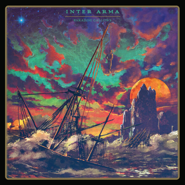 Inter Arma - Paradise Gallows, 2LP, Gatefold, Limited Gold Vinyl, 500 Copies 1