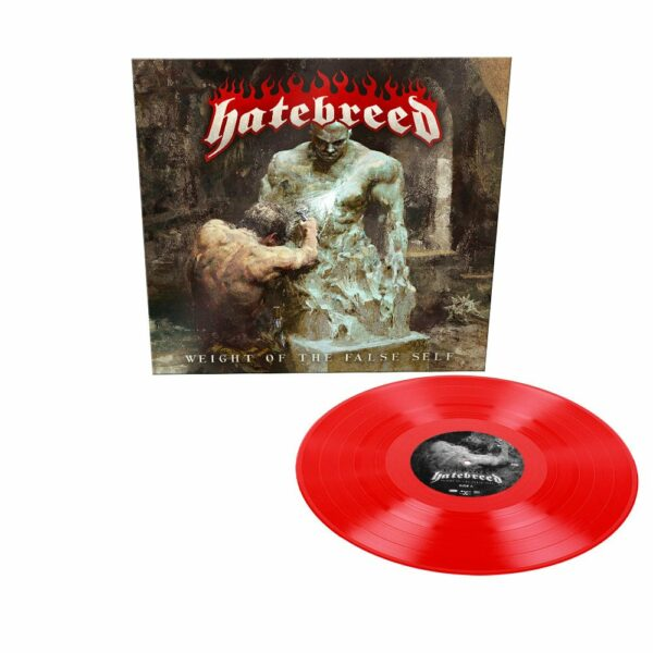 Hatebreed - Weight Of The False Self, Limited Red Vinyl, 500 Copies 1