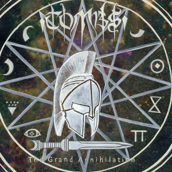 Tombs - The Grand Annihilation, Limited Ivory Grey Marbled Vinyl, 200 copies 1