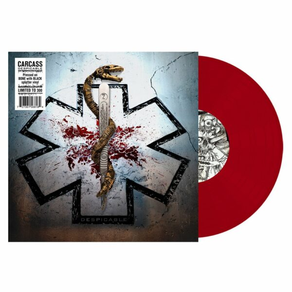 "Carcass - Despicable, 10"", Limited red vinyl, 1250 copies 1"