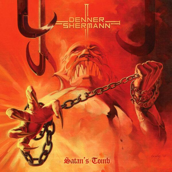 Denner/Shermann - Satan's Tomb, Limited Opaque Pumpkin Orange Vinyl, 500 Copies 1