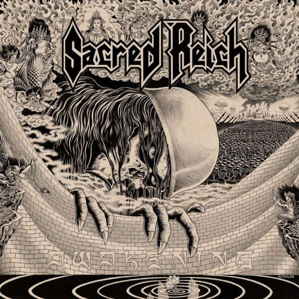 Sacred Reich - Awakening, Limited Green Marbled Vinyl, Tour edition, 300 Numbered Copies 1