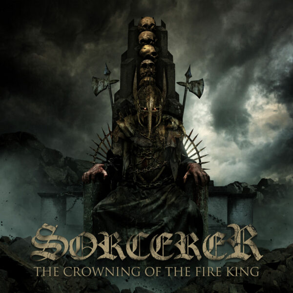 Sorcerer - The Crowning Of The Fire King, 2LP, Gatefold, Limited Clear Turquoise Vinyl, 400 Copies 1