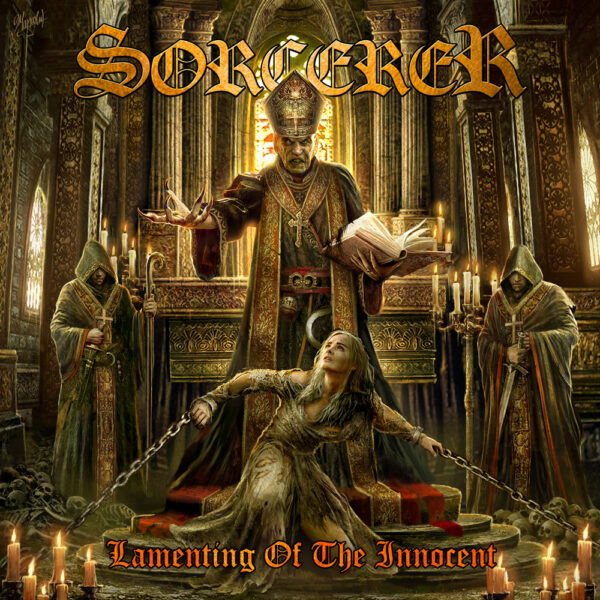 Sorcerer - Lamenting Of The Innocent, 2LP, Gatefold, Limited Transluctent Red Vinyl, 300 Numbered Copies 1