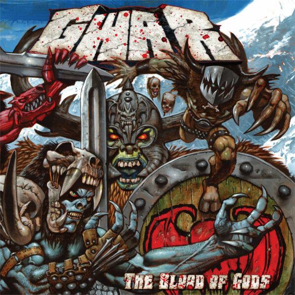Gwar - The Blood Of Gods, 2LP, Gatefold, Limited Silver Vinyl, 300 copies 1