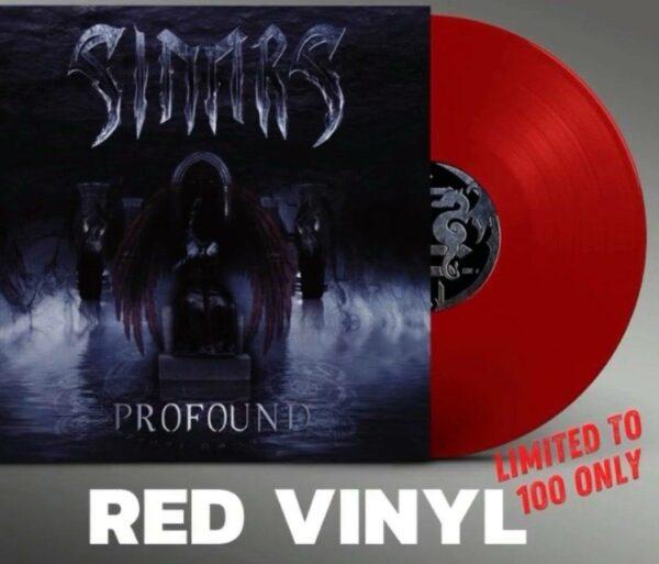Sinnrs - Profound, Limited Red Vinyl, 100 Copies 1
