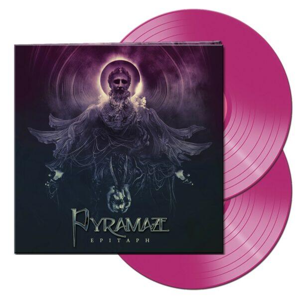 Pyramaze - Epitaph, 2LP, Gatefold, Limited Transparent Violet Vinyl, 500 Copies 1