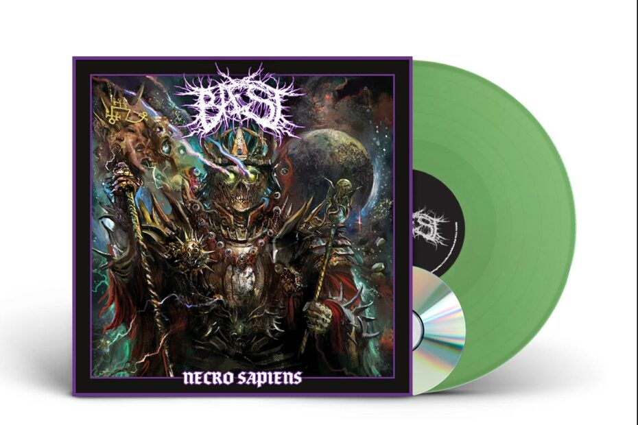 Baest - Necro Sapiens, Limited Olive-Green Vinyl, SIGNED!, 300 Copies, Incl CD+Download 5