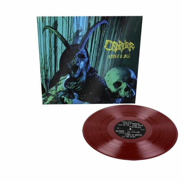 Cadaver - Edder & Bile, Limited Oxblood coloured vinyl, 500 copies 1