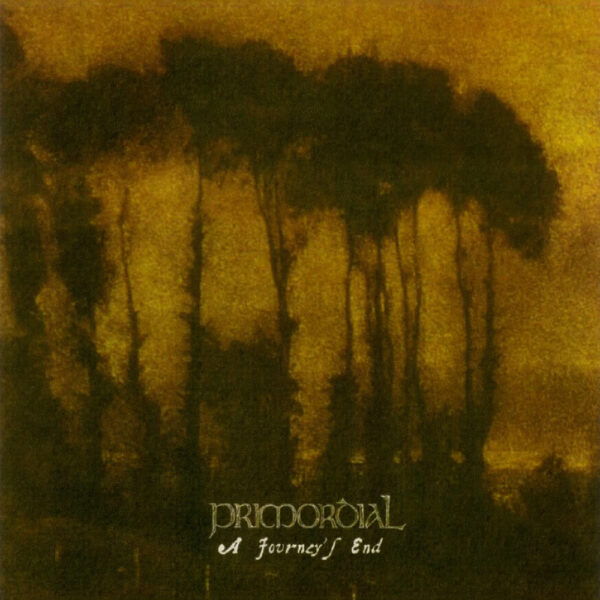 Primordial - A Journey's End, Limited Auburn Marbled Vinyl, 300 Copies 1