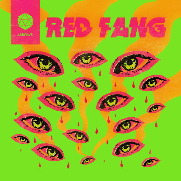Red Fang - Arrows, Limited Neon Magenta Coloured Vinyl 1